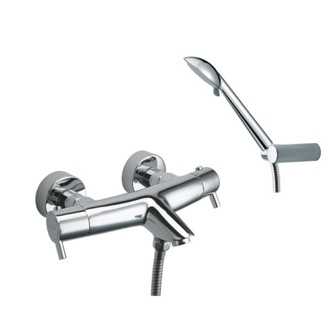 Tub Filler Thermostatic Tub and Shower Mixer with Hand Shower Set US-3339R3 Ramon Soler US-3339R3