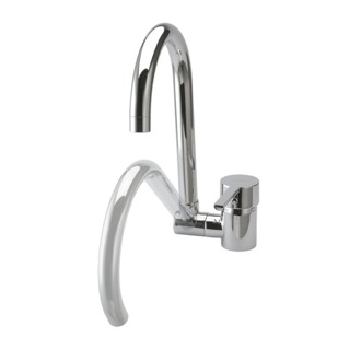 Kitchen Sink Faucet Brass Single Hole Kitchen Faucet With Rounded Swivel and Folding Spout US-3369 Ramon Soler US-3369
