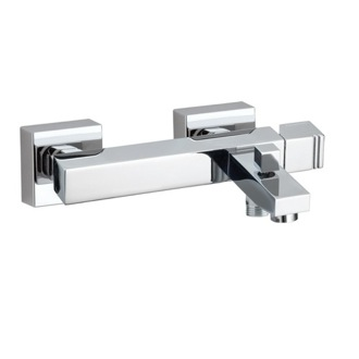 Bath-Shower Mixer Wall Mounted Brass Tub Faucet With Hand Shower Set In Chrome Finish US-4705K Ramon Soler US-4705K