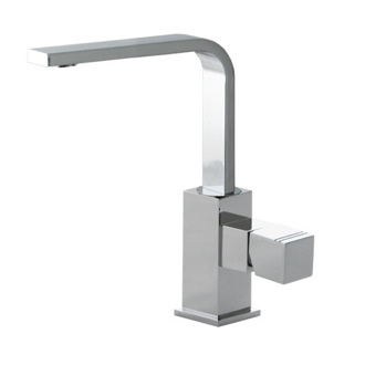Bathroom Faucet Single Hole Brass Tall Bathroom Faucet In Chrome Finish US-4721 Ramon Soler US-4721
