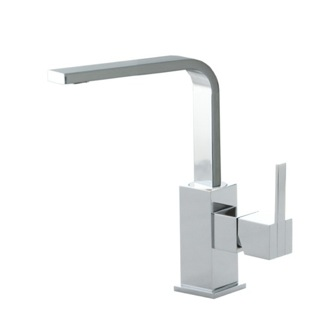Bathroom Faucet Single Hole Brass Bathroom Faucet In Chrome Finish US-4921 Ramon Soler US-4921