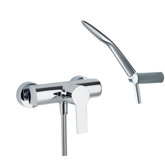 Tub Filler Single Lever Wall Mounted Shower Mixer with Hand Shower Set US-9308SK Ramon Soler US-9308SK