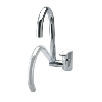 Kitchen Sink Faucet Brass Single Hole Kitchen Sink Faucet With Swivel and Folding Spout US-9369 Ramon Soler US-9369
