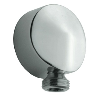 Wall Outlet Round Plated Brass Water Connection Remer 309LUS