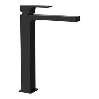 Modern Vessel Sink Faucet in Matte Black Remer AU10LUSNL-NO