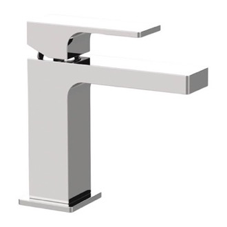 Modern Single Handle Bathroom Faucet in Chrome Remer AU11USNL-CR