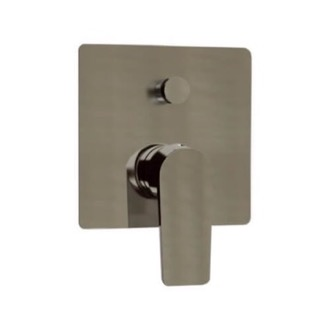 Satin Nickel Wall Mounted Diverter Remer D09NP