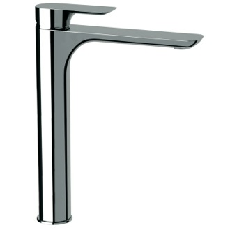 Bathroom Faucet Chrome Sink Faucet With Tall Neck Made From Brass Remer I11LUS