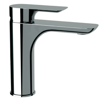 Bathroom Faucet Basin Mixer With Single Lever In Chrome Finish Remer I11US