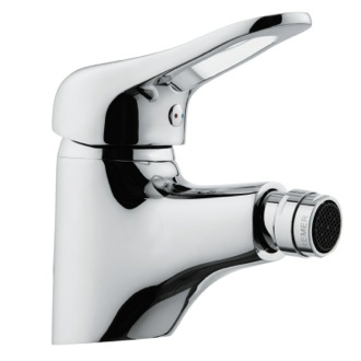 Chrome Single-Lever Bidet Faucet With Adjustable Aerator Remer K21