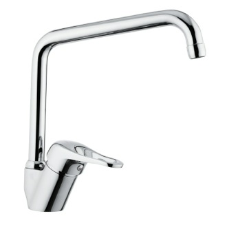Bathroom Faucet Chrome Sink Faucet with Swivel Spout K42U Remer K42U