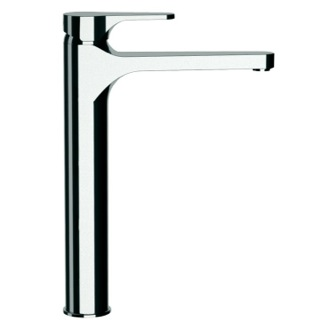 Bathroom Faucet Chrome Round Vessel Sink Faucet Remer L11LXLUS