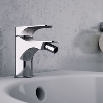Chrome Deck Mount Bidet Mixer Remer L21US