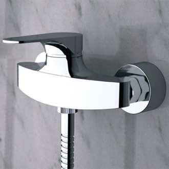 Mixer Wall-Mounted Shower Mixer With Single Lever Remer L31US