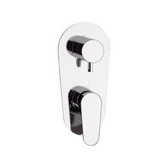 Diverter Chrome Wall Mounted Diverter Remer L93