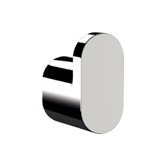 Polished Chrome Bathroom Hook Remer LN50