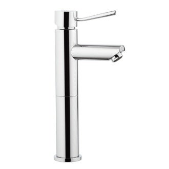 Bathroom Faucet Chrome Single-Lever Tall Faucet Without Pop-Up Waste Remer N11L