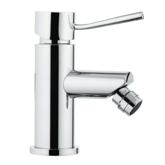 Contemporary Single Lever Chrome Bidet Mixer Remer N21