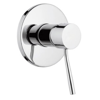 Plated-Brass Shower Mixer With Single Lever Remer N30