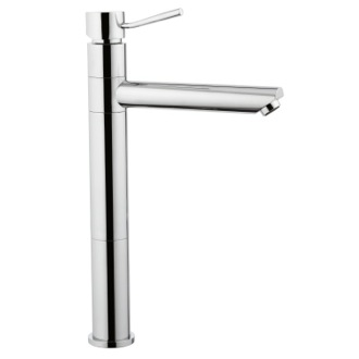 Bathroom Faucet Tall Single-Lever Sink Mixer With Movable Spout In Chrome Finish Remer N40L