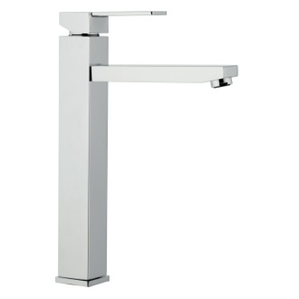 Bathroom Faucet High Neck Single Lever Chrome Basin Mixer Remer Q11LUS