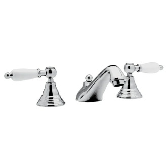 Bathroom Faucet Chrome Washbasin Set With Pop-Up Waste LR11US Remer LR11US