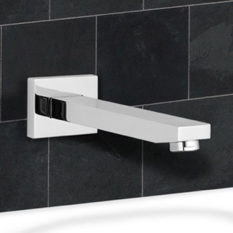 Tub Spout Chrome Wall Mount Bathtub Spout Remer 91Q
