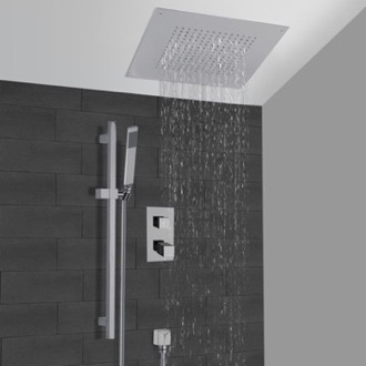 Shower Faucet Thermostatic Shower System With 16