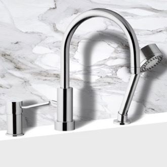Roman Bathtub Faucet with Hand Shower Remer N48319MO