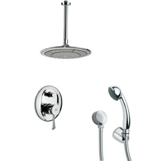 Shower Faucet Round Modern Shower Faucet with Handheld Shower Remer SFH6000