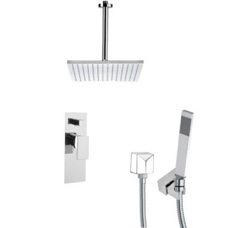 Shower Faucet Square Shower Faucet Set with Handheld Shower SFH6098 Remer SFH6098
