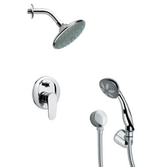 Shower Faucet Sleek Modern Shower Faucet with Hand Shower Remer SFH6190
