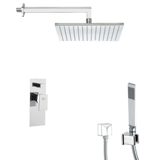 Shower Faucet Square Shower Faucet with Hand Shower Remer SFH6510