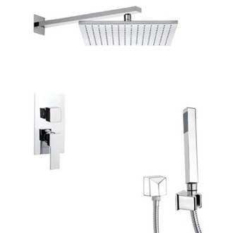 Shower Faucet Modern Shower System with Hand Shower Remer SFH6516