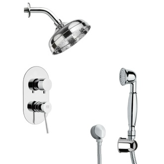 Shower Faucet Classical Themed Shower Faucet Available in 8 Finishes SFH6530 Remer SFH6530