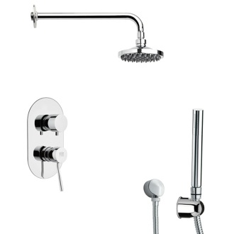 Shower Faucet Modern Shower System with Hand Shower Remer SFH6531