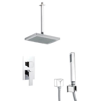 Shower Faucet Modern Shower System with Hand Shower Remer SFH6546