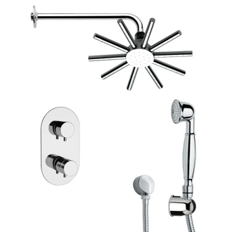Shower Faucet Contemporary Shower Faucet with Hand Shower Remer SFH6547
