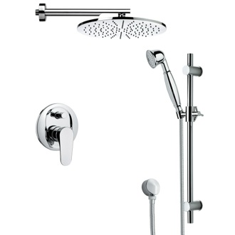 Shower Faucet Contemporary Shower Faucet with Sliding Rail SFR7504 Remer SFR7504