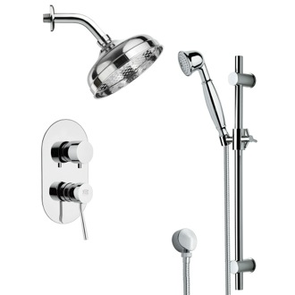 Shower Faucet Classical Themed Shower Faucet Available in 8 Finishes SFR7530 Remer SFR7530