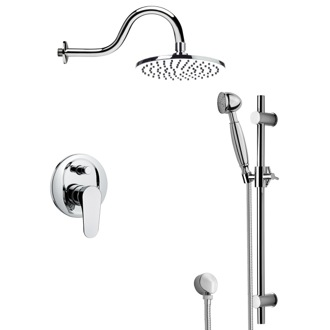 Shower Faucet Contemporary Shower Faucet with Sliding Rail SFR7534 Remer SFR7534
