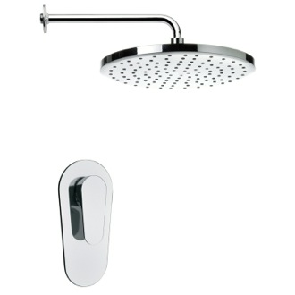 Shower Faucet Round ModernRain Shower Faucet Set Remer SS1002