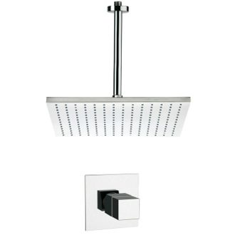 Shower Faucet Thermostatic Shower Faucet Set Available in 8 Finishes Remer SS1401
