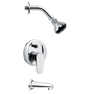Tub and Shower Faucet Sleek Modern Shower System Remer TSF2063