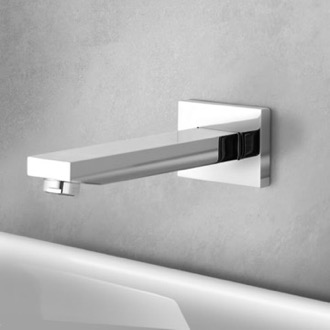 Chrome Wall Mount Bathtub Spout Remer 91Q