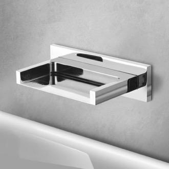 Chrome Wall Mounted Waterfall Tub Spout Remer 91ZCUS