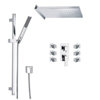 Shower Faucet Shower Faucet with Body Spray Remer S10