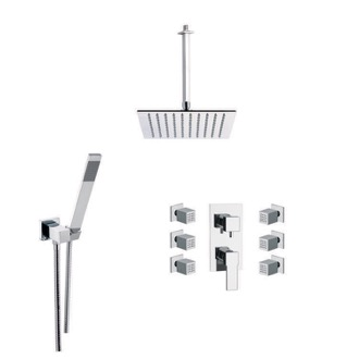 Shower Faucet Shower Faucet with Body Spray Remer S17