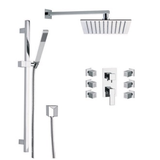 Shower Faucet Shower Faucet with Body Spray Remer S6