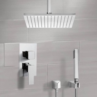 Shower System with Ceiling 12